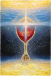 <strong>Strom Života</strong>      Technika : olej na plátně, obraz byl dokončen roku 2015. Rozměr obrazu je  120x80cm. Obraz je možno si objednat i jako reprodukci . Originalní olejomalba je prodána