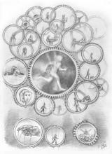 """<strong>Chronos </strong>  Ilustrace ke knize <a href=""""http://www.stromyazivot.cz/tajemstvi-sila-slova.html"""">TAJEMSTVÍ A SÍLA SLOV</a>"""