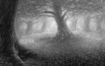 <strong>léčivý dub</strong>       Olej na plátně. Obraz byl dokončen koncem července 2012. Rozměr obrazu je  160 x105cm. prodáno. Obraz je možno si objednat i jako reprodukci